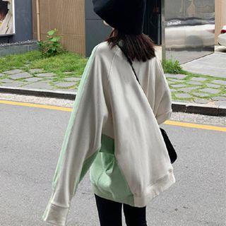 Carmenta - Color-Panel Sweatshirt