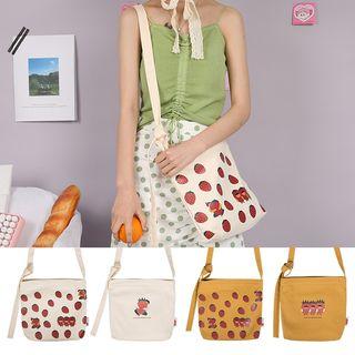TangTangBags(タンタンバッグズ) - Printed Canvas Shoulder Bag