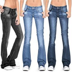 Rantucket Hi - Low-Rise Bootcut Jeans