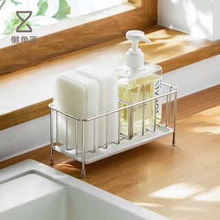 Lazy Corner - Stainless Steel Sink Caddy