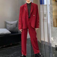 ANCHO - Button-Up Blazer / Dress Pants / Set