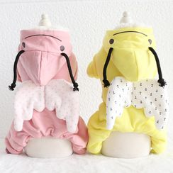 Puppy Love - Bee Hooded Pet Overall
