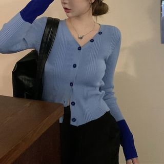 Butterfly Dorm - Two-Tone Cardigan