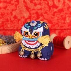 candycross - 舞獅香薰囊DIY刺繡材料包