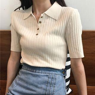 Tonni's - Strick-Poloshirt