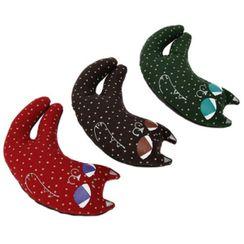 iswas - Cat-Shape Star-Pattern Hand Cushion