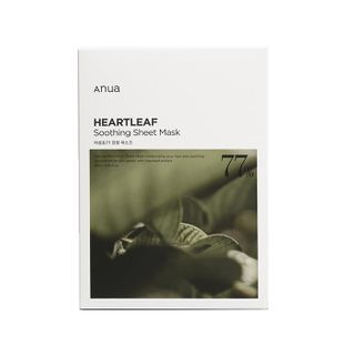 Anua - Heartleaf 77% Soothing Sheet Mask Set