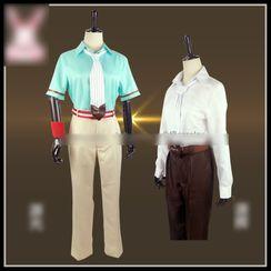 Mikasa - 地縛少年花子君源輝角色扮演服裝套裝 / 道具