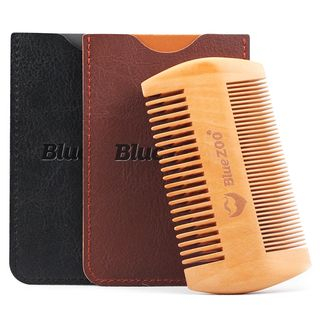 Gizmi - Double Sided Wooden Hair Comb