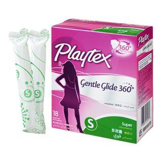 Playtex - Gentle Glide Tampons (Super / 18's)