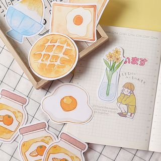 OH.LEELY - Food / Flower Print Sticky Note