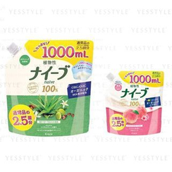 Kracie - Naive Body Wash Refill 1000ml - 2 Types