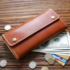 Wavecho - Genuine Leather Long Wallet