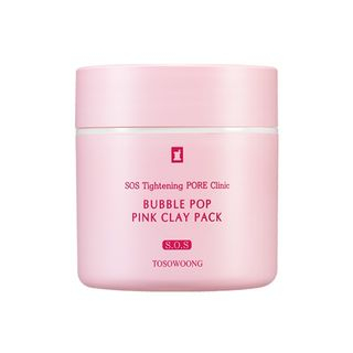 TOSOWOONG - SOS Tightening Pore Clinic Bubble Pop Pink Clay Pack 50g