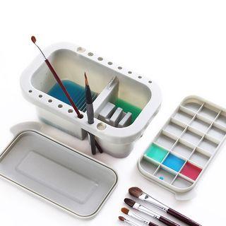 Kulum - 3-in-1 Plastic Paint Brush Washer