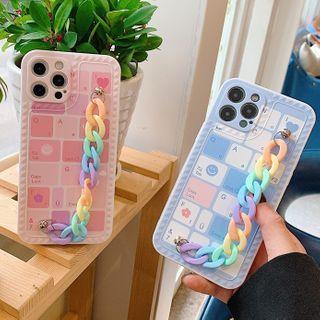 Chatarine - Hand Chain Phone Case - iPhone 12 Pro Max / 12 Pro / 12 / 12 mini / 11 Pro Max / 11 Pro / 11 / SE / XS Max / XS / XR / X / SE 2 / 8 / 8 Plus / 7 / 7 Plus