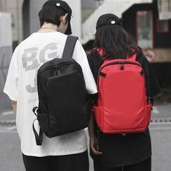 Sosara - Nylon Plain Backpack