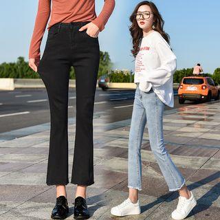 Denimot - Boot-Cut Cropped Jeans