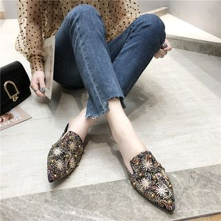 Mowin - Pointy Toe Mules
