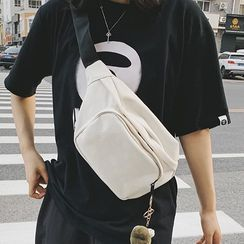 Caraket - Plain Canvas Sling Bag