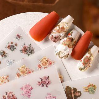 WGOMM - 3D Print Nail Art Stickers