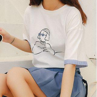 Termane - Short-Sleeve Printed T-Shirt