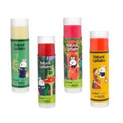 PUREFORET - Natural Lip Balm Alice Into The Rabbit Hole Collaboration - 4 Colors