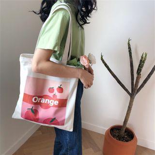 Eastin - Fruit Print Shopper Bag
