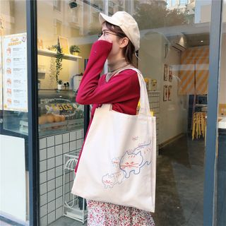 Eastin - 印花购物袋