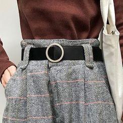 Dute - Faux-Leather Belt