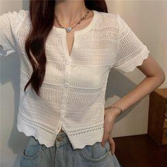 Luminato - Short-Sleeve Knit Top