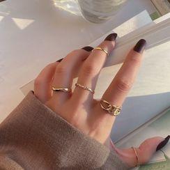 Jamfune - Set: Alloy Ring (assorted designs)