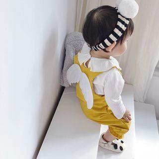 MOM Kiss - Kids Plain Wings Jumper Pants