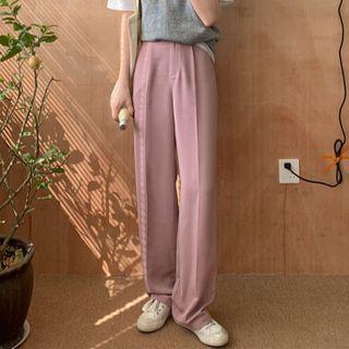 Bambu - Wide-Leg Dress Pants