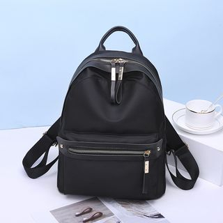 Aishang - Faux Leather Backpack