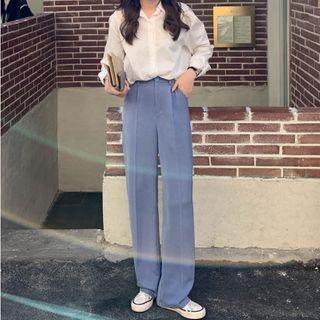 Piwonia - 宽腿西裤