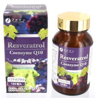 Fine Japan - Resveratrol & Coenzyme Q10 Tablets