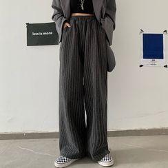 Sevilla - 高腰條紋寬腿褲
