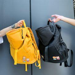 SUNMAN - Hooded Nylon Backpack