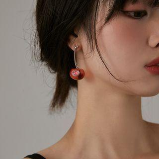INKGLOW - Cherry Drop Earring