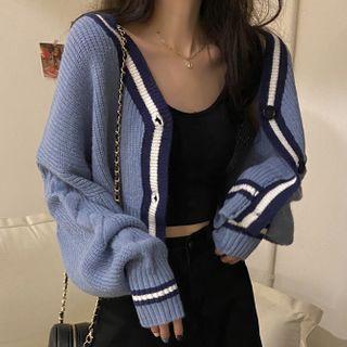 Shopherd - 拼色開衫