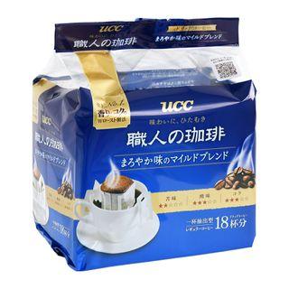 UCC - Craftsman Special Mild Blend Drip Ground Coffee 7g x18