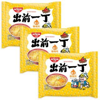 Nissin - Demae Iccho Spicy Series Spicy Curry Flavour (3 packs)