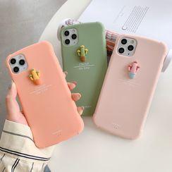 CeLLEAGUE - 3D Cactus Phone Case - iPhone 11, 11 Pro, 11 Pro Max, XS Max, X/XS, XR, 8p/7p, 8/7
