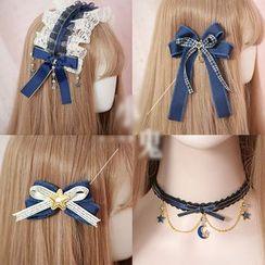 Elfis - Sailing-accent Headband / Choker / Hair Clip / Hair Tie (various designs)
