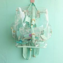 Hello minto - Transparent PVC Backpack