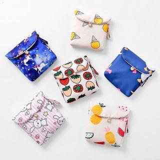 四季美 - 印花卫生巾小袋
