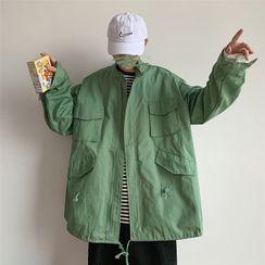 COSH - Oversize Pocket Detail Zip Jacket