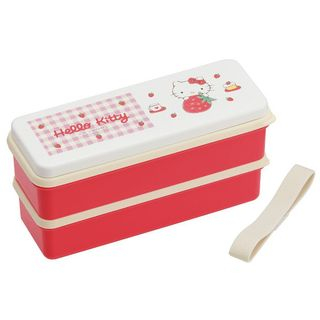 Skater - Hello Kitty Seal Lid Lunch Box (Color Pencil)