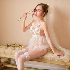Momilove - Lace Lingerie Set